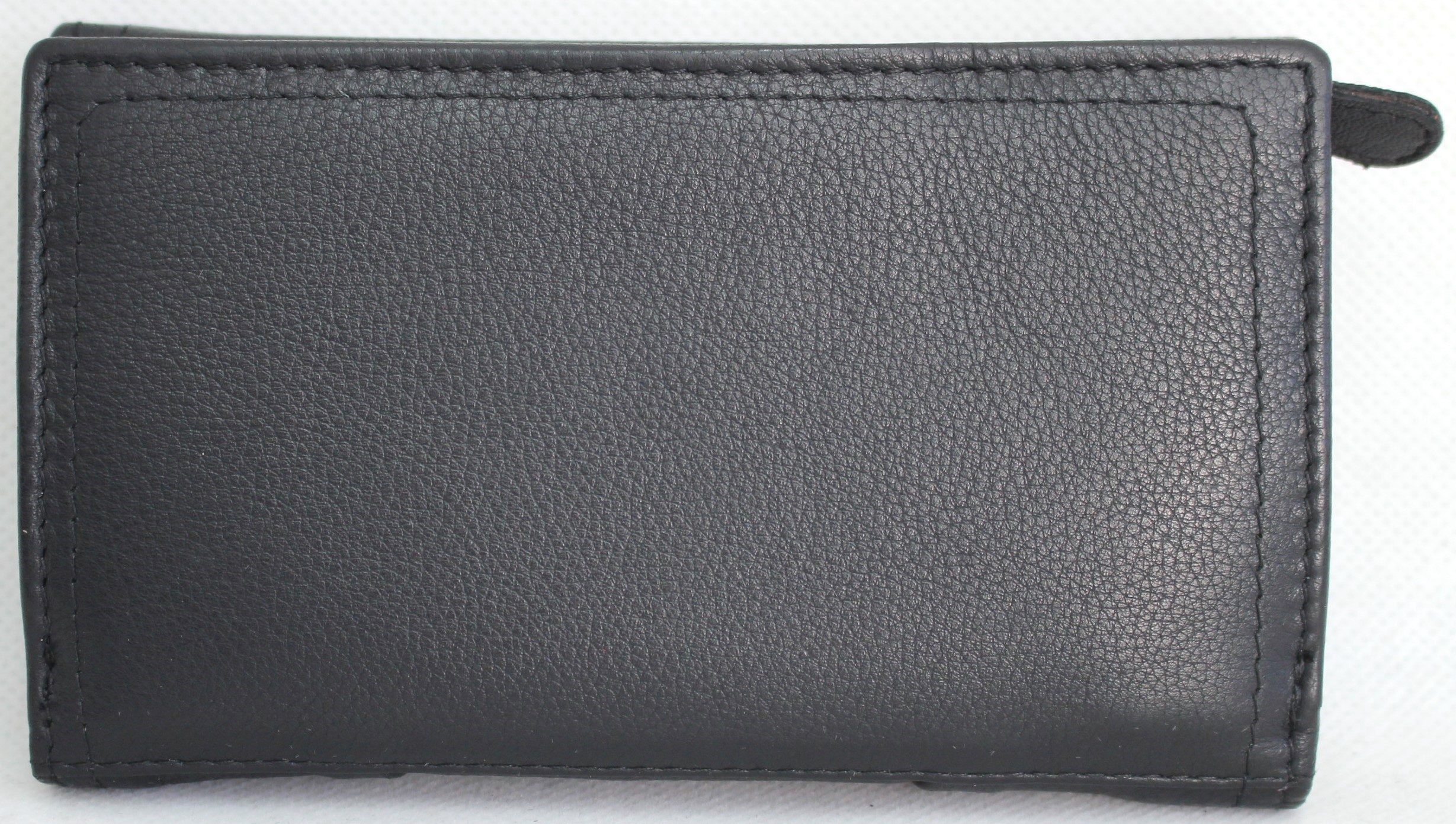 RFID SECURITY LINING 21004 Quality Full Grain Cow Hide Leather Purse Style No