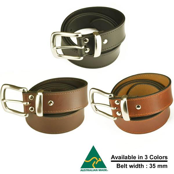35mmAustralian Made Leather Belts